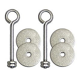 Cathedral Stainless Steel Eyebolt Kit