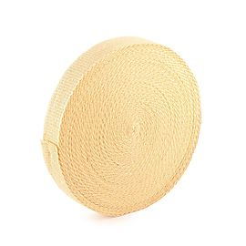 100 ft roll of 15 x 1 8 inch Kevlar wick, 100 ft (30m) roll of 2 x 1/8 inch (50mm x 3.2mm) Kevlar ® Wick