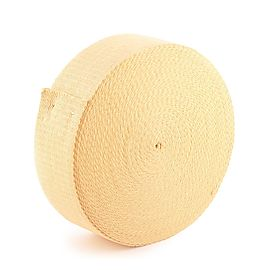 100 ft (30m) roll of 4 x 1/8 inch (100mm x 3.2mm) Kevlar ® Wick