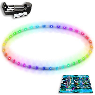 Hula Hoops, UltraHoop Shuffle - Smart LED Hoop (HDPE)
