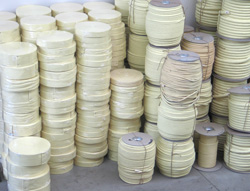 Bulk store of wick at HOP warehouse