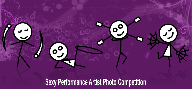 Sexy Performance Artist Photo Competition