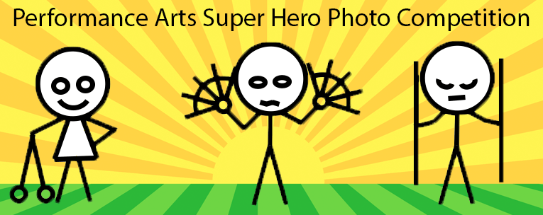 Performance Arts Super Hero Photo Competition