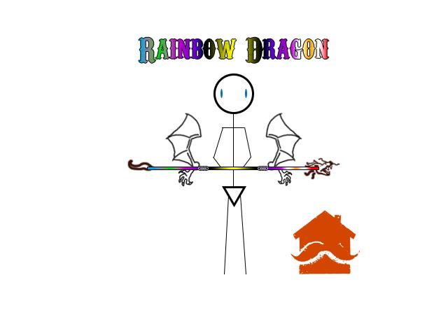 Complete Rainbow Dragon
